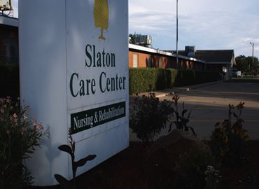 Slaton Care Center Sign