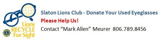 Lions Club Eyeglasses