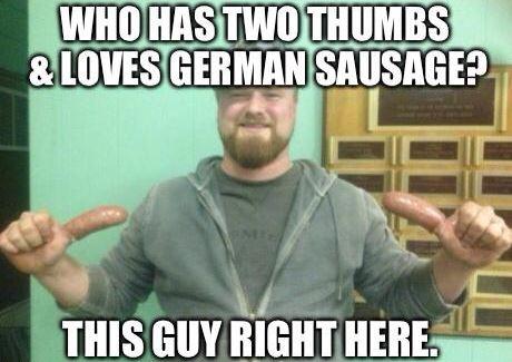 Sausage Thumbs