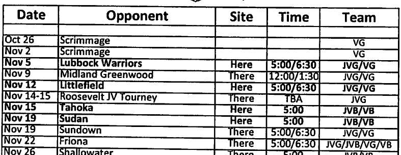 Slaton Basketball Schedule 2013 sample