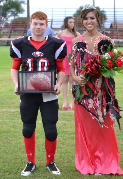 Southland 2014 Homecoming King & Queen Wyatt Benham & Mallory Arguello