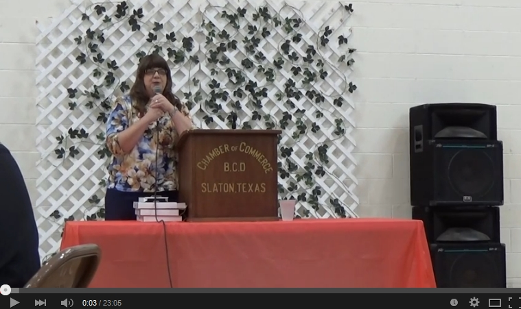 Slaton Chamber Banquet 2015