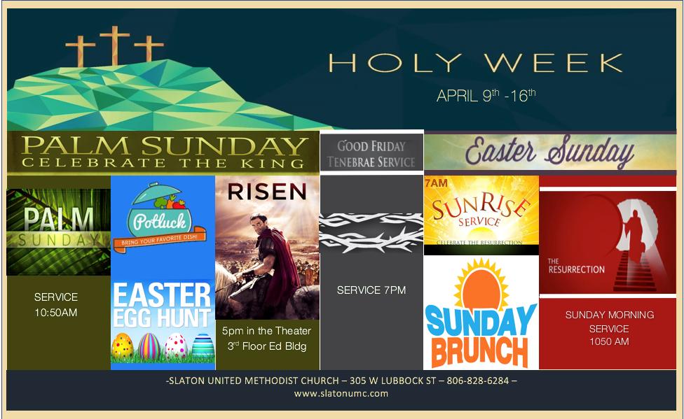 UMC Holy Week