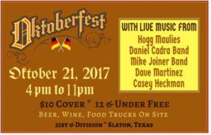 St. Joseph Oktoberfest @ St. Joseph Hall